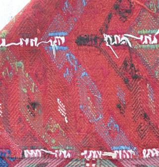 "Anatolian (Tarsus area )cicim 19th Century Size:80 x 88 Cm        2'8x2'11"""