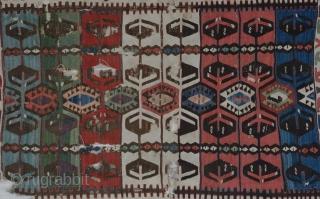 Konya Kilim Fragment, Central Anatolia, mid 19th Century, 104 x 164 CM                       ...