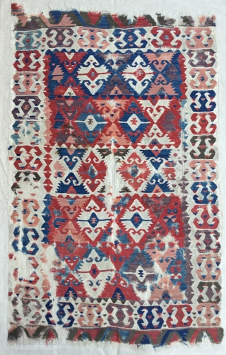 Central Anatolian 'Sivrihisar'  Kilim.Early 19th Century 