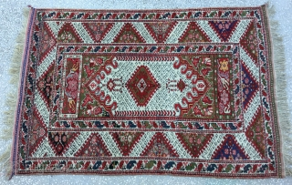West Anatolian Gordes Rug,beginning of 20th Century 