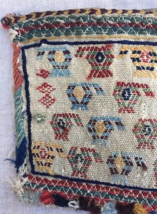 Kurdish (Koçan) bag face Size:28x23 cm