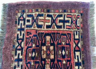 Turkoman Yamud (Yamut)Torba. Central Asia.19th Century. Size:78x27 cm/ 30x11 inc