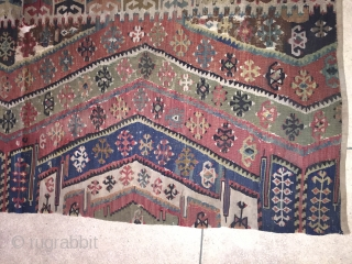 Old East Anatolian Kilim portion