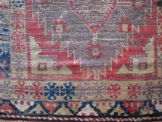 20th century fragment KONYA rug(central anatolia)