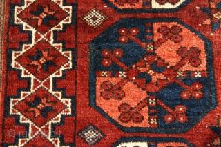 {35} Ersari, 97 X 153 cm, ca. 1900, one small restoration in kilim, otherwise in original, mint condition.  -Kolya