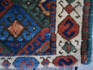 {86) Jaf Kurd bag face, 63 X 38 cm, full pile, no worn areas.