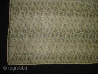 Zari Brocade(Real Zari)Than(Yardage)From Jamnagar Gujarat. India.This were traditionally used mainly by Rajput family of Saurashtra Gujarat. India.C.1900.Its size is 81cmX520cm(DSC04145 New).