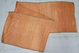 Mashru warp Ikat fine Lahariya wave design on the Silk, from Deccan region of south India. C.1900. Its size is 85cmX395cm (20200215_142515).