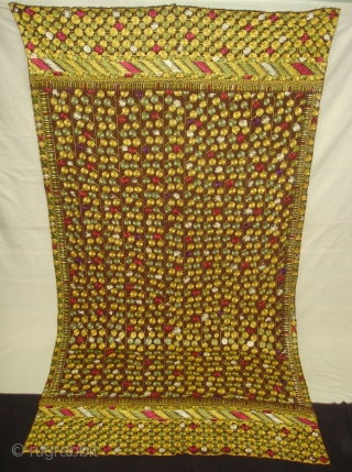 Chamba Phulkari From Hill Area of Himachal Pradesh. India. Known as Chamba Phulkari. C.1900 (DSC04842 New).
