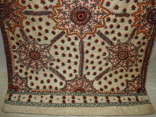 Abochhini Bridal Shawl From Tharparkar Region of Sindh Pakistan.C.1900.Its size is 136cmX210cm.very Rare Abochhini(DSC05144 New).
