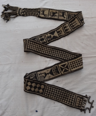 Tung The Camel Decoration Belt(woolen)From Rajasthan, India.Made of cotton.Good Condition(DSC02115 New).