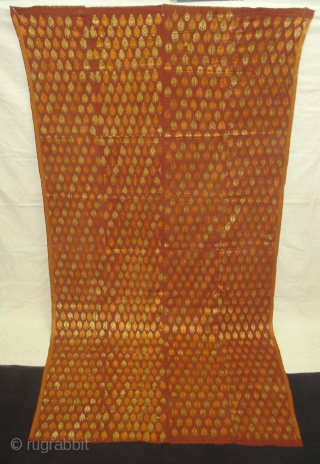 Phulkari From West(Pakistan)Punjab.India.known As Mughal Buti Design Bagh,very Rare influence of Different Buti Design Bagh(DSC06430 New).