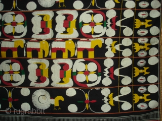 Woven Cloth of the Angami Naga tribe,From Manipur,North-East India. India.Its size is 121cmX158cm.Good Condition(DSC01312).