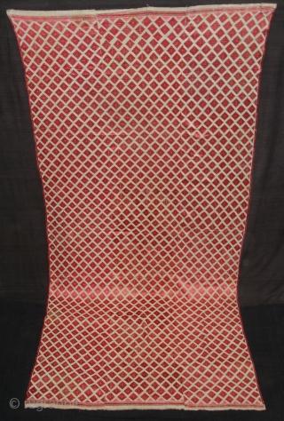 Phulkari From West(Pakistan)Punjab. India.Known As Wedding Thirma Bagh.Very Rare influence of Patang Design Thirma Bagh(DSC00904 New).