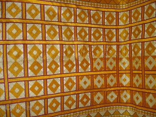 Phulkari From West(Pakistan)Punjab.India,Very Rare Patang Design Bagh(DSC02247 New).