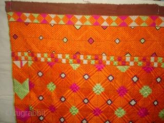 Phulkari From East(India)Punjab.India.One of the Rare Design Indian Phulkari(DSC07055 New).