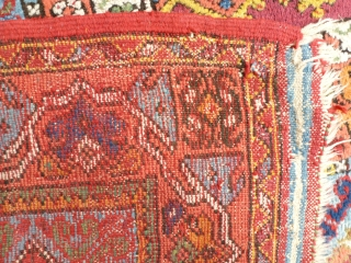 Super Rug of Rabat (Morocco) circa 1930/40. Very good looking, 440 x 270, perfect condition. Price upon request