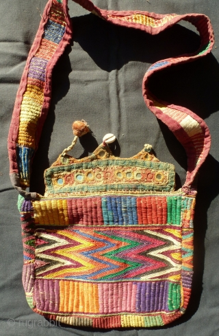 Small bag from Rajasthan, late 19th century, very charming. Price upon request.