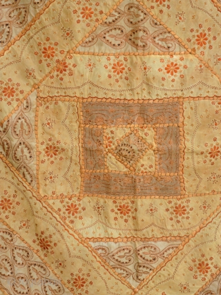 Européen Patchwork,  circa 1900/20, 140 x 90 Price upon request