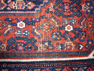 Antique Kurdish Synne,  197 x 140, missing a counter border.
