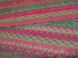 Taung Shay Pa Soh : Traditional Burmese Male lower garment of Luntaya (100 Shuttles Tapastry Weave) technique in 'Acheiq' design (series of different wave like patterns) believed to be inspired by the  ...