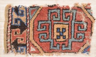 Early 18th Century Archaic Anatolian Fragment Size 30 x 55 cm
