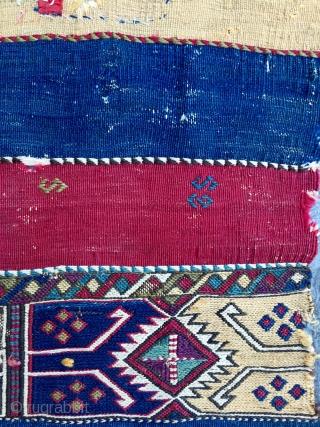 Mid 19th Century East Anatolian Cuval size 90x100 cm