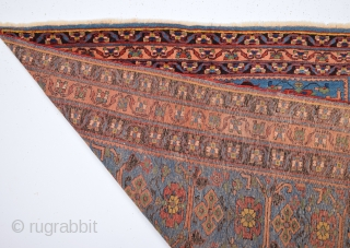 Mid. 19th Century Persian Avshar Rug It Has Good Pile Size 140 x 170 Cm
