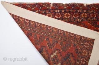 Mid 19th Century Ersari Chuval Size 95 x 135 Cm