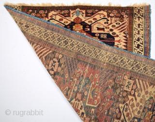 19th Century Shirvan Zejwa Rug Size 108 x 155 Cm