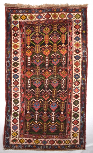 19th Century Unusual Nord West Persian Rug Size 107 x 184 Cm