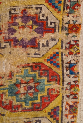 18th Century Anatolian Cappadokia Rug It Has Great Colors Size 124 x 246 cm