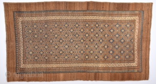 19th Century Unusual Persian Bakshaish or Sarap Camel Ground Rug.Completely original and Untouched one. Size 115 x 210 Cm