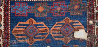 An archaic unusual Anatolian fragment already mounted professionally Size 80 x 119 cm