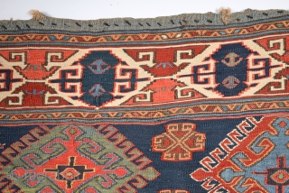 19th Century Shahsavan Panel Size 44 x 58 Cm