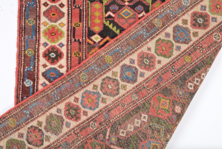 19th Century Unusual Nord-West Persian Rug.It's in Really Good Condition Size 107 x 184 Cm