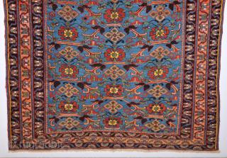 Mid. 19th Century Persian Avshar Rug It Has Good Pile Size 140 x 170 Cm