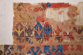 18th Century Anatolian Cappadokia colorful fragment size 65 x 155 cm