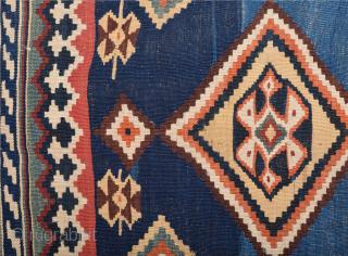 Lovely 19th Century Qashqai Kilim Size 160 x 206 cm*