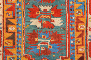 Mid.19th Century Antique South West Anatolian Rug From Fethiye or Telmessos, as in the ancient times, which used to be named as Makri in 19th century. Wool pile on wool foundation. Good  ...