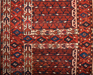Circa 1800s Turkmen Yomud Engsi Size 123 x 182 cm