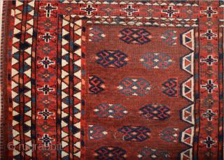 Circa 1800s Yamud Engsi It Has Unusual Elems Size 135 x 180 cm