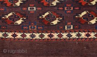 Mid 19th Century Yamud Chuval Size 76 x 115 Cm