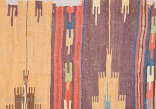 Early 18th Century Anatolian Konya Safh Kilim Size 72 x 215 Cm Please ask for more detail and whole images.