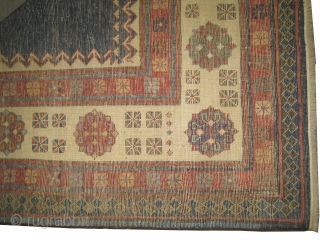 """Talish Caucasian circa 1870 antique. Collector's item, Size: 218 x 108 (cm) 7' 2"""" x 3' 6""""  carpet ID: K-3617 Already repaired, vegetable dyes, the warp and the weft threads are 100%  ..."""