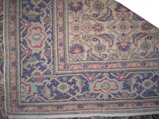 "Kayseri Turkish old.  Size: 218 x 146 (cm) 7' 2"" x 4' 9""  carpet ID: FW-4