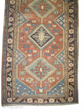 "Serapi Heriz Persian circa 1900 antique.  Size: 170 x 95 (cm) 5' 7"" x 3' 1""  carpet ID: K-2556 