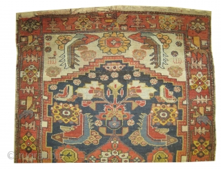 "Farahan Persian circa 1890 antique. Collector's item, Size: 175 x 122 (cm) 5' 9"" x 4' 