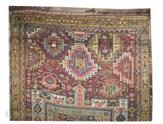 "Gutschan-Kurd Persian circa 1910 antique. Collector's item. Size: 310 x 175 (cm) 10' 2"" x 5' 9""  carpet ID: W-90