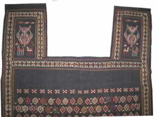 """Horse cover Vernneh Caucasian, woven circa in 1915 antique, collector's item,  152 x 120 (cm) 5'  x 3' 11""""  carpet ID: A-271 Woven with vernneh technique and hand spun lamb  ..."""